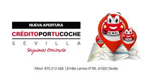 Nueva apertura CreditoPorTuCoche en Sevilla