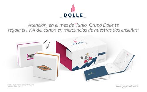 El Grupo Dolle (DE5En5 y 9Noventay9) te regala 1.200 € en mercancía durante el mes de Junio