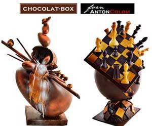 Chocolat-Box y Anton Colom … CON AROMA A CHOCOLATE