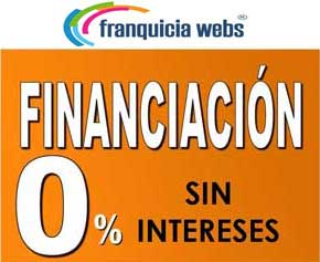 Únete a Franquicia Webs con inversión financiada sin intereses