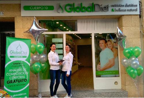 GlobalDiet inaugura su primera tienda en Jávea