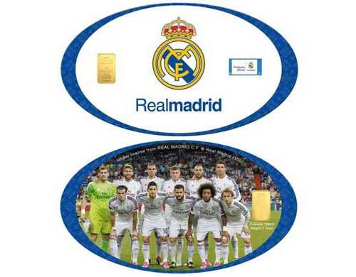 KARATBARS INTERNATIONAL producto oficial del Real Madrid