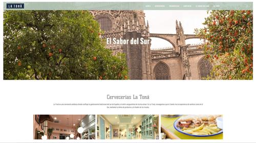 Cervecerías La Toná estrena nueva web incluida dentro de su estrategia de renovación de imagen