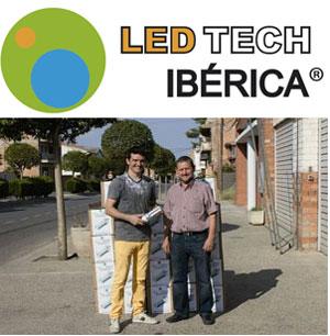 Corbins (Lleida) es el primer municipio catalán iluminado con led