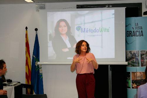 Rocío Ramos-Paúl presentó el lunes en Barcelona el Método Wits