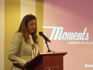 Moments entrevista a su franquiciada Patricia Breña