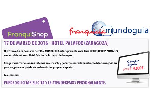 FRANQUISHOP Zaragoza, nuevo escaparate para MUNDOGUIA
