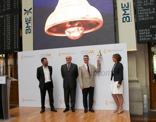 VozTelecom ha empezado a cotizar hoy en el Mercado Alternativo Bursátil