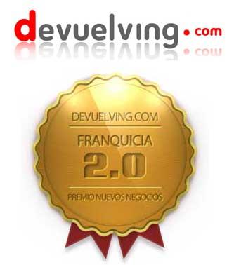 """Devuelving.com """"Tu Tienda Online"""" premiada en nuevos negocios por el concepto de Franquicia 2.0"""