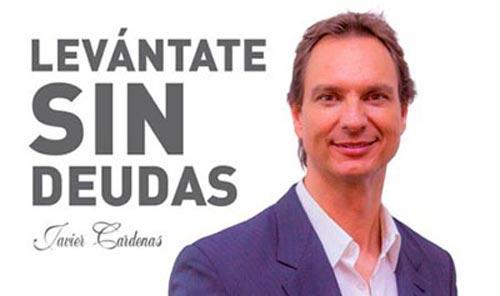 Javier Cárdenas es la nueva imagen de Repara tu Deuda