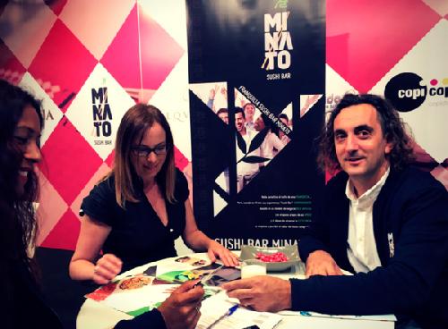 Sushi Bar Minato  presentó su franquicia en el marco de ExpoFranquicia 2017