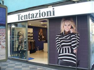 TENTAZIONI inaugurará una nueva tienda en Pamplona