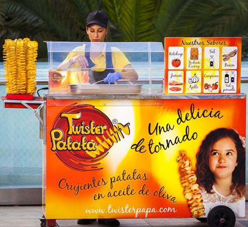 Barcelona, nueva parada en la expansión de Twister Patata