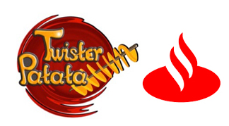 Twister Patata y el Banco Santander trabajarán juntos
