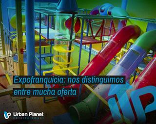 Urban Planet:  Puedes venir a conocernos a ExpoFranquia del 21 al 23 de abril