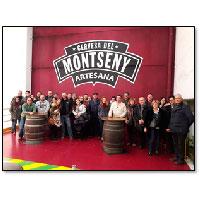 Vinalium visita a la Cervecería del Montseny
