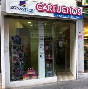 Nueva tienda Zona Verde Consumibles Fuerteventura