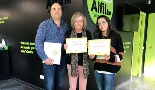 Alfil.be Papelería & Hobby El Masnou. FIN FORMACIÓN