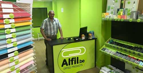 Alfil.be FERRARI (Madrid) - Papeleria & Hobby. INAUGURACIÓN