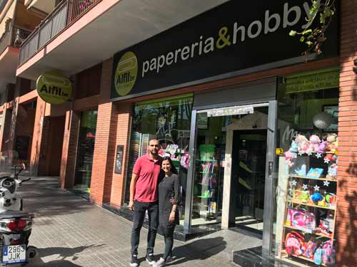 Alfil.be Rambla Brasil PapelerÍa & Hobby. INAUGURACIÓN.