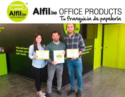 Alfil.be Sants Papeleria & Hobby. FIN FORMACIÓN