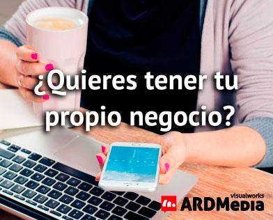 ARDMedia Franquicias. Entre los servicios ofrecidos por ARDMedia destaca el diseño de páginas web, la creación de tiendas virtuales, el diseño gráfico, el desarrollo de aplicaciones móviles, el marketing online y la gestión de redes sociales.