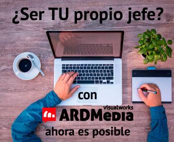 ARDMedia Franquicias. Te permite obtener ingresos recurrentes y estables procedentes de varias áreas de actuación.