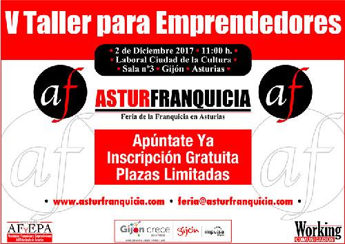 Este Taller para Emprendedores se desarrollará en Laboral Ciudad de la Cultura, en Gijón, y se enmarca dentro de la programación de actividades