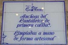 Franquicia Bodega la Fuente Somos productores de nuestras propias anchoas