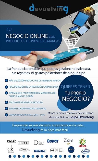 Devuelving,tienda,online,centro comercial,baratas,rentables