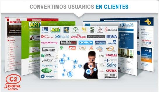 Franquicias C2 Digital Agency. Buscamos franquiciados preferiblemente del sector de agencias de comunicación, tanto gerentes y directivos de agencias que quieran ver crecer su negocio.