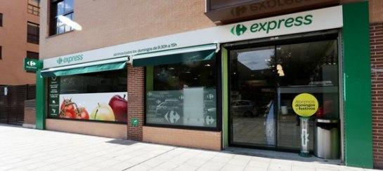 Franquicia Carrefour Express-es un supermercado de proximidad que mantiene todos los criterios y la esencia de la marca.
