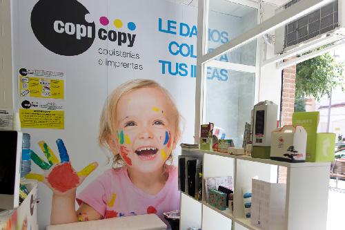 Franquicia Copi Copy, Copisterías,