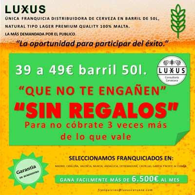 LUXUS franquicia distribuidora