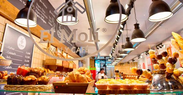 El Molí Pan y Café Franquicias. Disfruta en nuestras tiendas y franquicias de Panadería & Cafetería de un exquisito café acompañado de una pieza de bollería recién horneada con ese toque tradicional que tanto nos gusta, a cualquier hora del día