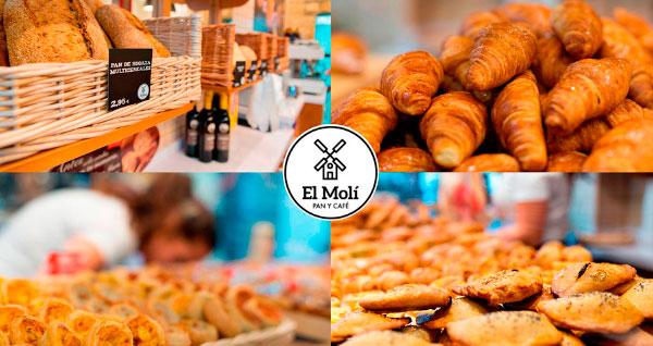 El Molí Pan y Café Franquicias. Tu catering a domicilio. Puedes realizar tu pedido y recogerlo en nuestra tienda o, si lo prefieres, lo llevamos a tu hogar, evento o negocio. Celebra con nosotros cumpleaños, fiestas, reuniones de empresa, etc.