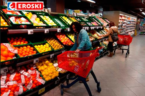 EROSKI Franquicias. El supermercado dispone de un surtido de más de 3.500 productos de marcas de fabricantes líderes, marcas propias y productores locales en sus más de 350 metros cuadrados de superficie.