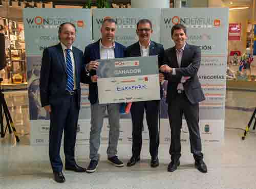 ESKAPARK recibe el premio al mejor proyecto innovador del Wonderful Summit 2019
