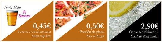 Franquicia 0,50 Espigas&Migas, elaboración y venta de comidas y bebidas, para llevar y/o tomar en el local.
