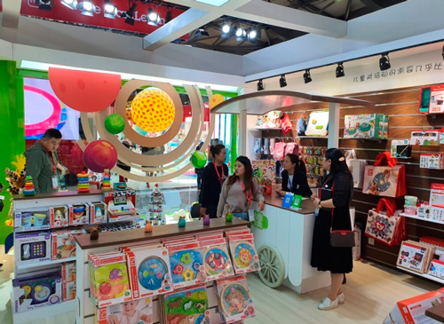 Eurekakids en la feria China Toy Expo