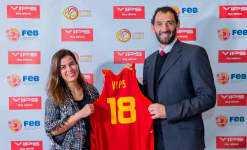 VIPS Franquicias, continuará participando activamente en las giras de preparación de las selecciones masculina y femenina y promocionando los encuentros por las diferentes ciudades españolas.