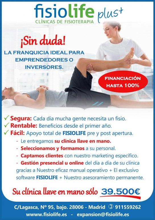 FisioLife Franquicias - Franquicias de Centros de Fisioterapia.