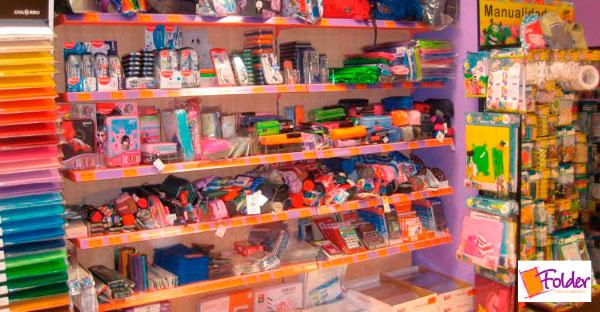 Folder Franquicias. Las tiendas Folder son establecimientos amplios, modernos y ordenados, con un amplísimo surtido de producto, listos para atender cualquier necesidad de material para el estudio o trabajo, tanto a nivel doméstico como de empresa