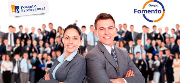 """Fomento Profesional Franquicias. Se dedica principalmente a formación técnica y profesional, dirigida a mejorar la situación laboral del cliente por medio de la formación semipresencial y """"Prácticas laborales en empresas""""."""