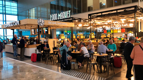 EAT OUT GROUP inaugura un espacio Food Market en el aeropuerto de Alicante