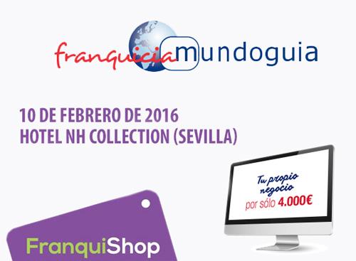 La Franquicia Low-Cost MUNDOGUIA estara en FRANQUISHOP Sevilla