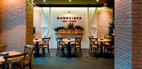 Gambrinus Franquicias. Los consumidores que buscan disfrutar de una comida casera en un ambiente distendido saben que la franquicia Gambrinus es el mejor sitio para compartir cualquier momento con una buena cerveza Cruzcampo.