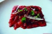 Franquicia Loft 76 lo mejor de la cocina tradicional. Carpaccio de buey con parmesano