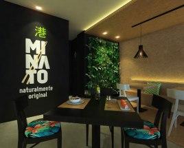 Franquicia Sushi Bar MINATO-un entorno moderno y cuidado hasta el ultimo detalle.