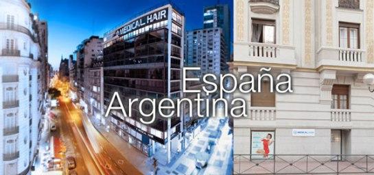 Franquicia Medical Hair-Asociación Médica Argentina, International Society of Hair Restoration Surgery y la American Society of Hair Restoration Surgery.